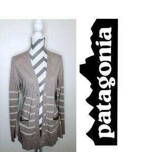 SALE🎉 PATAGONIA Women's Striped Long  Cardigan